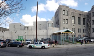 The Orleans parish jail in New Orleans.