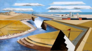 The Rye Marshes by Paul Nash.
