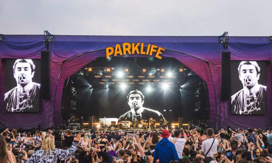 Liam Gallagher at Parklife festival at Heaton Park, Manchster, in June 2018.