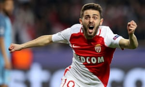 Bernardo Silva during his period with Monaco.