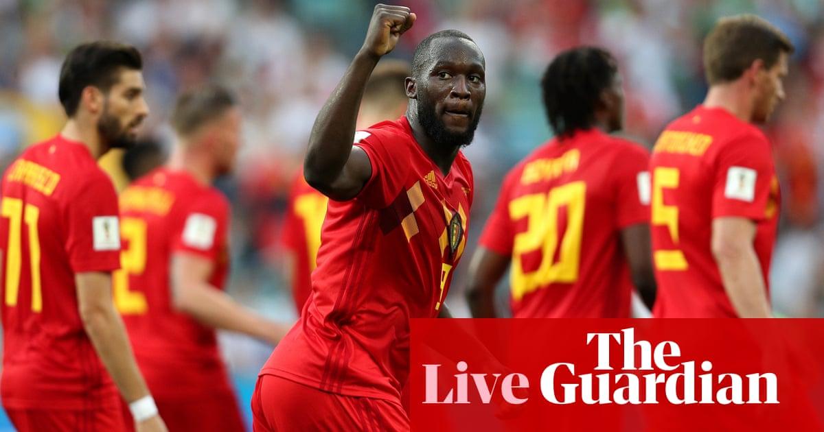 4865df74d Belgium 3-0 Panama  World Cup 2018 – as it happened