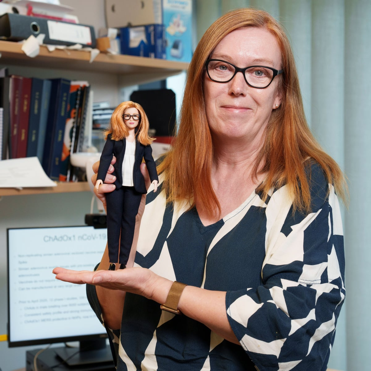Vaccinologist Barbie: Prof Sarah Gilbert honoured with a doll | Vaccines  and immunisation | The Guardian