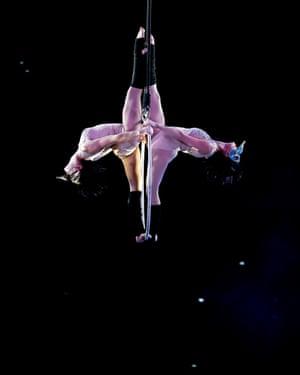 Ukraine's Elysium Circus Theatre perform in Alice in Wonderland