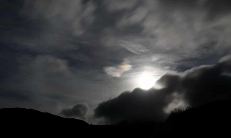 'It fell about the Martinmas,/ When nights are lang and mirk' … the night sky in the Scottish Highlands.