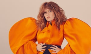 'I'm wired for hope': Natasha Lyonne wears dress by Kaimin and rings by Beladora.