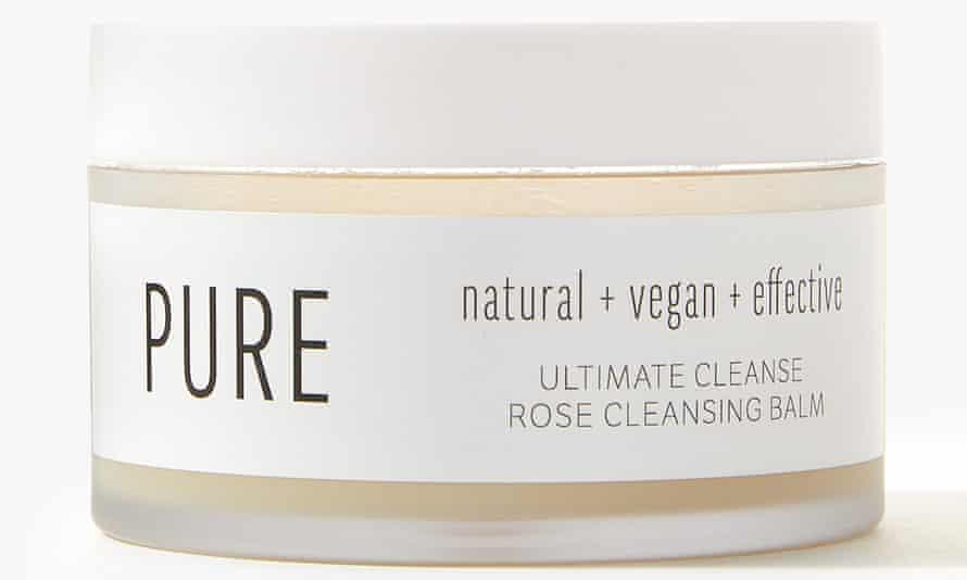 M&S Rose Cleansing cream
