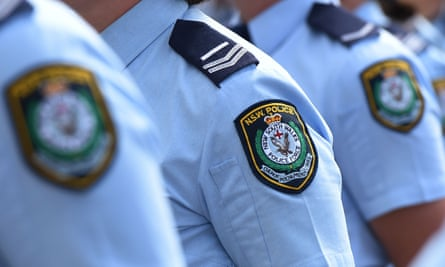 NSW police badges