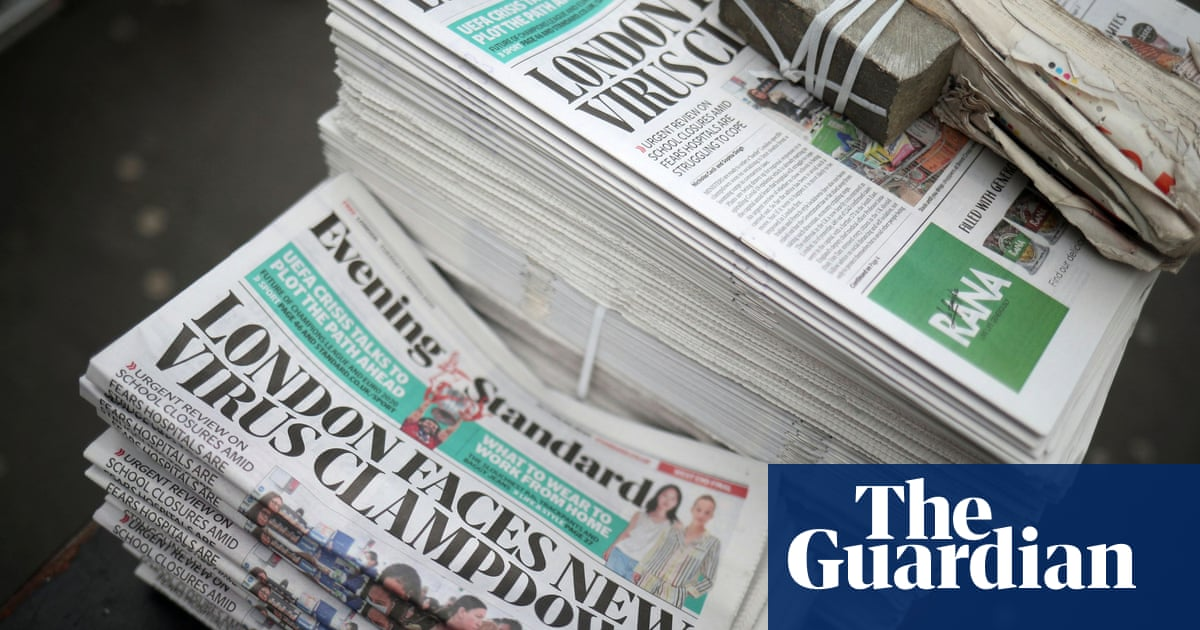 Evening Standard announces pay cut and furloughs after ad slump