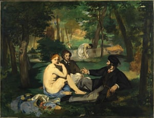 Déjeuner sur l'herbe by Édouard Manet (1862–1863).