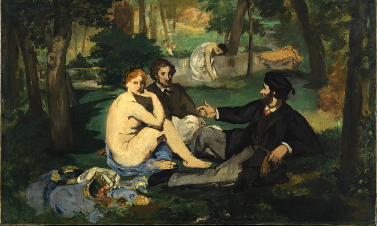 Courtauld to ship manet 39 s naked lunch painting to hull for Dejeuner sur l herbe vaisselle