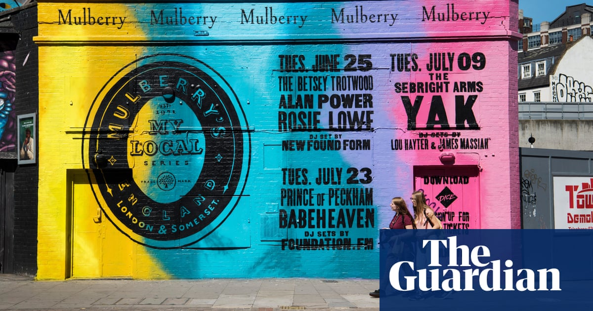 589e884b3b Pub gigs and a Shoreditch mural: can Mulberry appeal to a younger crowd?