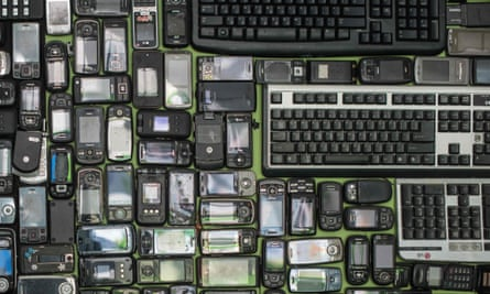 Eighty percent of our electronic waste ends up in emerging and developing countries.