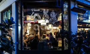 Tibits vegetarian and vegan restaurant, Heddon Street, London W1B, England, UK.
