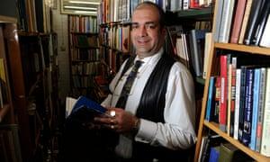 John Westwood at Petersfield Bookshop