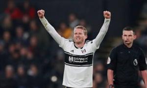 André Schürrle celebrates a goal that helped beat Southampton last weekend.