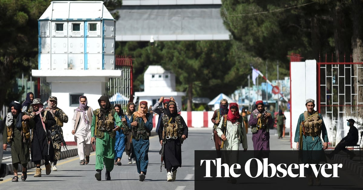 Afghanistan: with the US gone, how soon will the Taliban show their true colours?