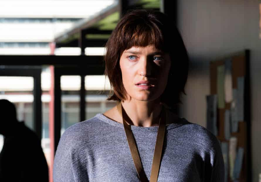 A still from the ABC TV/Netflix series Pine Gap, about the secret intelligence base in Central Australia.