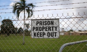 Don Dale youth detention centre in Darwin, Northern Territory, Australia. January 2017.