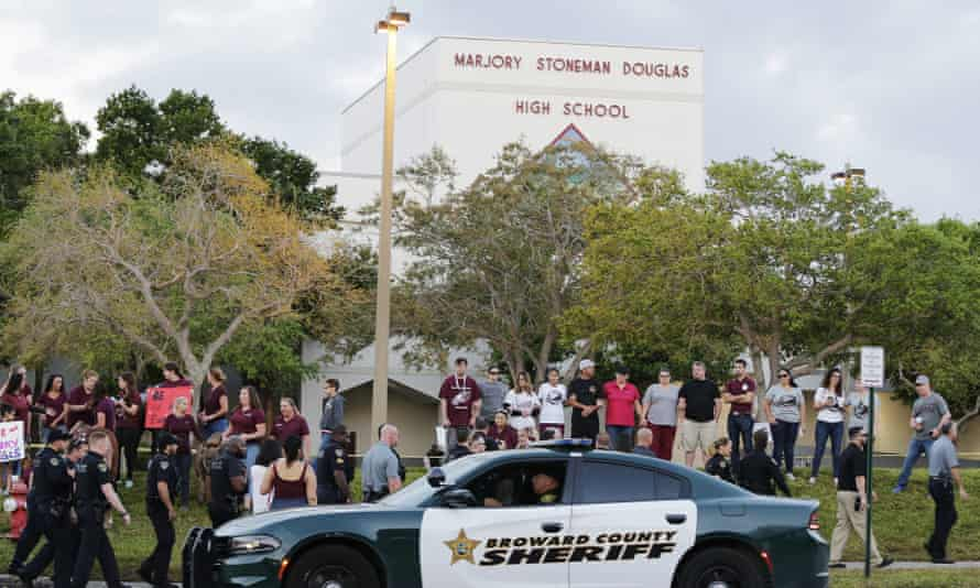 Florida's campus 'armed guardian' program was established in the wake of the shooting at Marjory Stoneman Douglas high school.