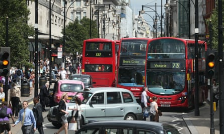As well as the over-60s, those with lung and heart problems should steer clear of areas with heavy traffic, the study says.