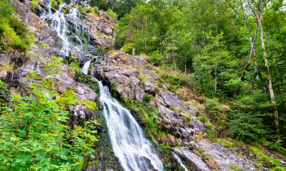 Todtnau waterfall.