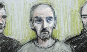 Thomas Mair in a court sketch.