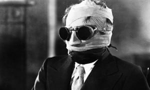 Claude Rains in 1933's The Invisible Man