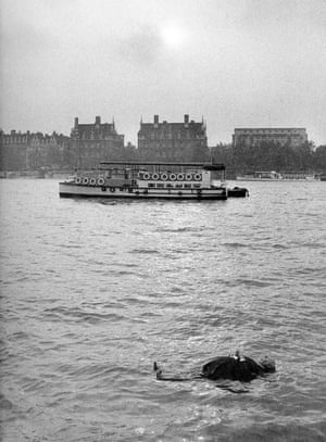 Frenzy (1972) Hitchcock appeared in funny teaser trailers for the movie, including this one showing a dummy of him floating in the River Thames. The director had a penchant for black humour and it became part of his trademark