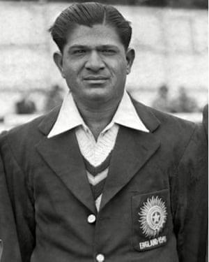 India's Vinoo Mankad pictured in 1946.