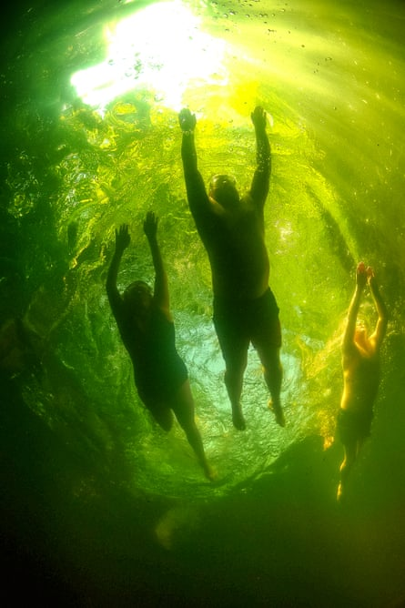 Once you've broken the taboo of wild swimming, you find quickly that you can get in anywhere.
