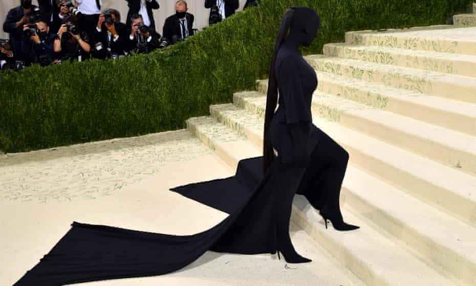 Who's that girl? Kim Kardashian at the 2021 Met Gala.