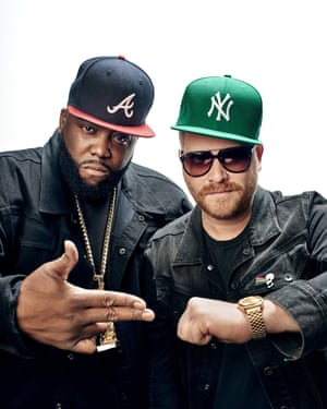 Run The Jewels, AKA Killer Mike and El-P.
