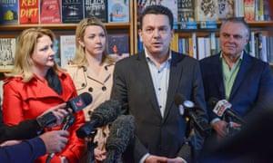 Nick Xenophon and his fellow Nick Xenophon Team senators