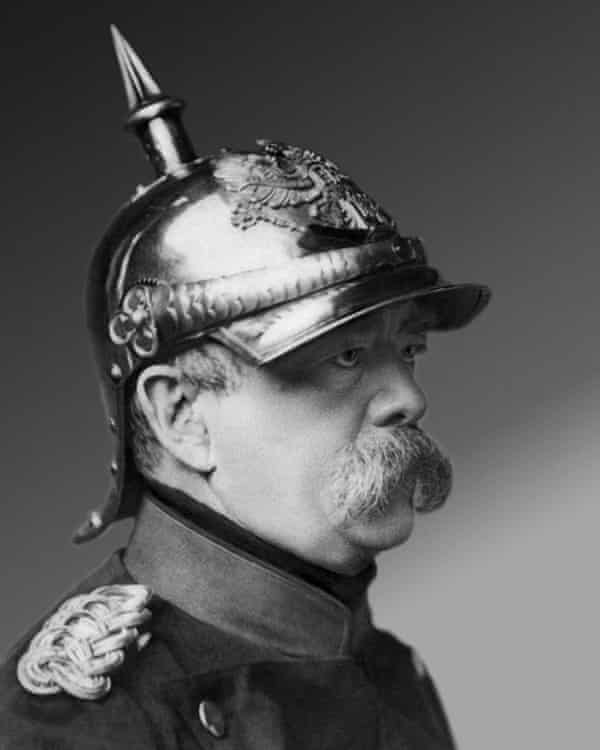 Otto von Bismarck, Steinberg wrote, 'brandished democracy at the Habsburgs like a cross in front of a vampire'.
