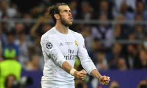 Real Madrid's bill is less than one fifth of the €100m transfer fee it is reported to have paid for Gareth Bale.