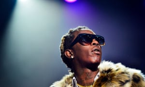 Young Thug performs  in Johannesburg, South Africa.
