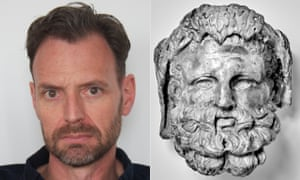 Tim Dowling and his real-life mythical doppelganger Heracles.