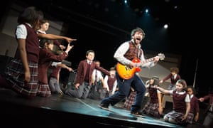 School of Rock review – Andrew Lloyd Webber musical has lost