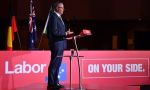 Anthony Albanese delivers his keynote speech to the ALP national conference on Tuesday