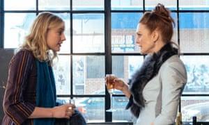Greta Gerwig and Julianne Moore in Maggie's Plan.