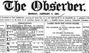 The Observer, 7 January 1861.