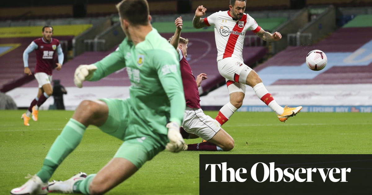 Southamptons Danny Ings quick off mark to sink former club Burnley