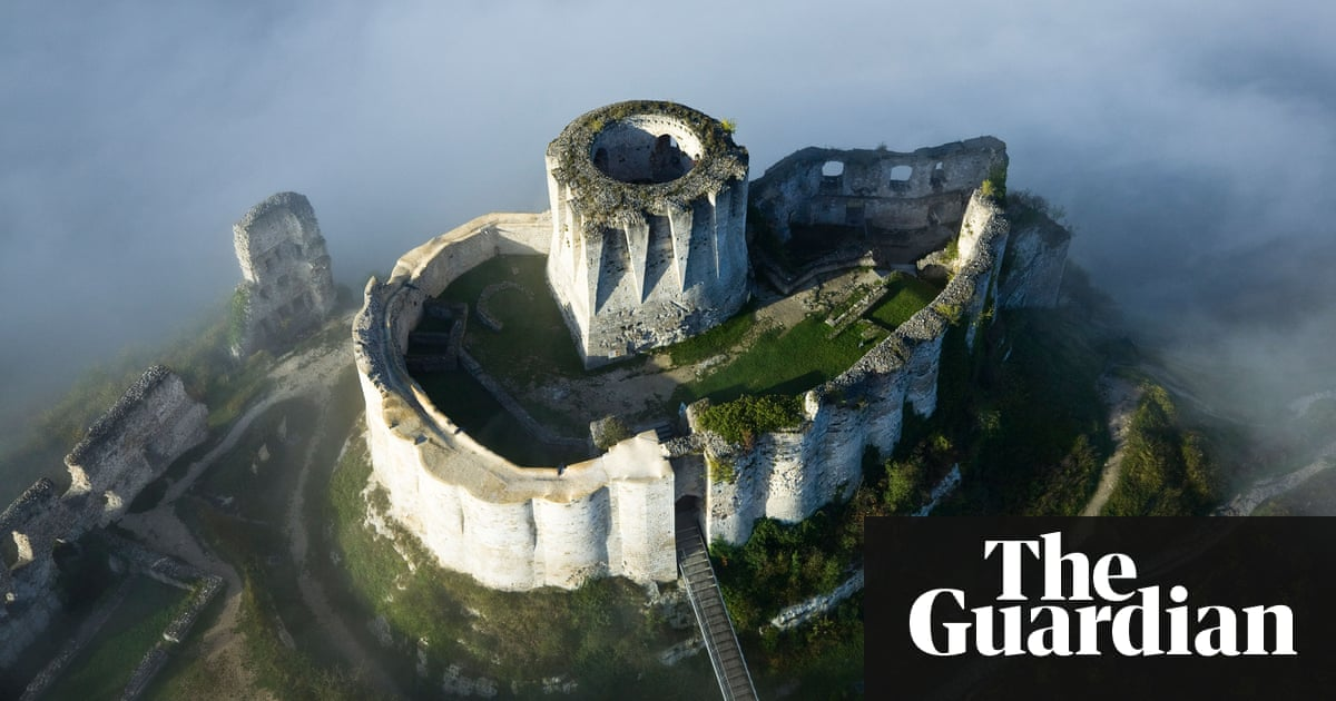 Travel photo of the week: The Lionheart\'s castle, Normandy ...