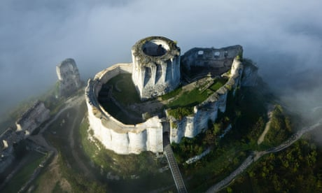 Travel photo of the week: The Lionheart's castle, Normandy