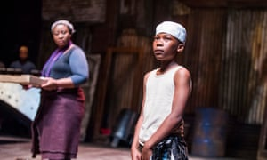 Pauline Malefane and Phielo Makitle in A Man Of Good Hope