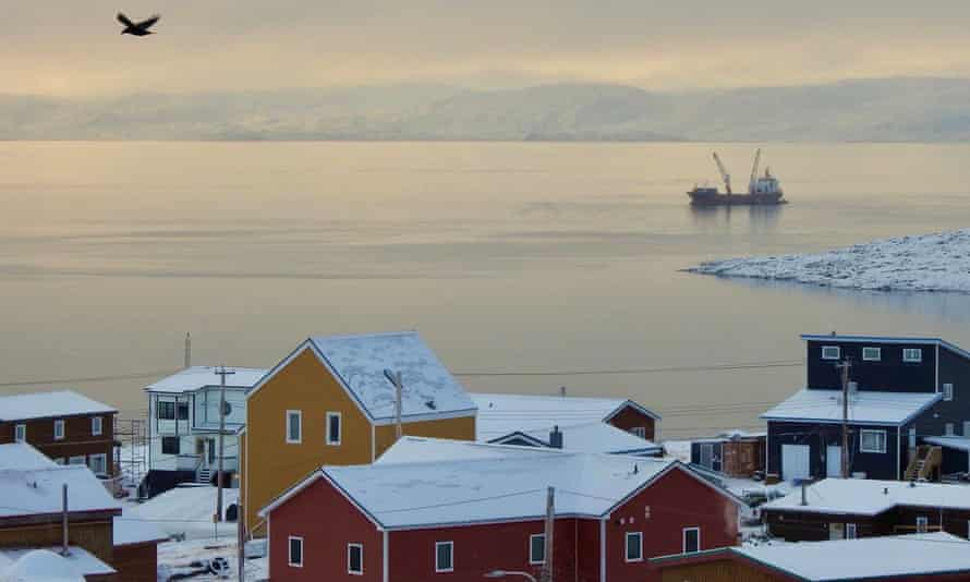 Cargo delivery for Amazon in Iqaluit.