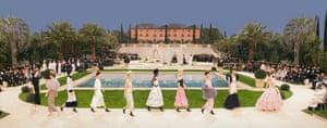 Chanel Villa, Haute Couture Spring:Summer 2019, Le Grand Palais, Paris