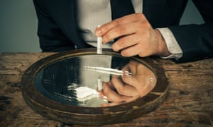 Cocaine use among young British adults is more than double the European average.