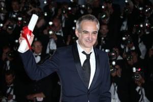 Olivier Assayas won the best director award
