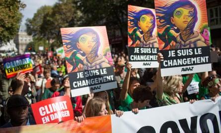People's Climate March, Paris, France